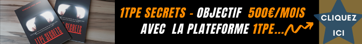 comment gagner de l'argent avec 1TPE Secrets
